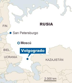 Una 'viuda negra' causa 16 muertos al atentar contra una estación de tren rusa