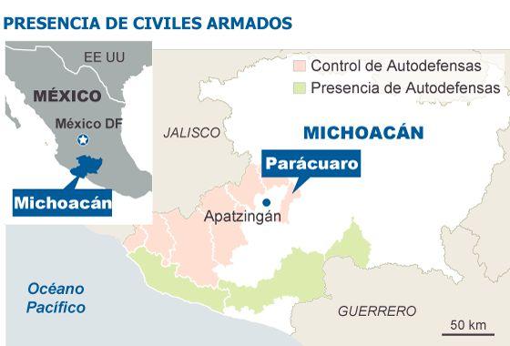 Las autodefensas avanzan en México