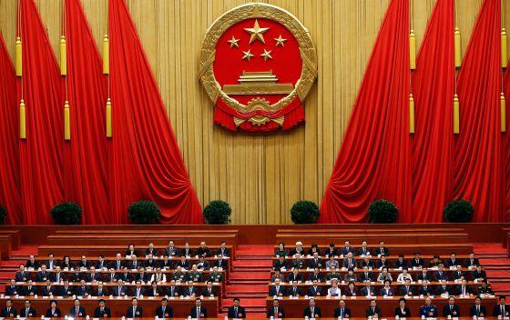 Sesión plenaria de la Asamblea Popular Nacional en marzo del año pasado en Pekín.