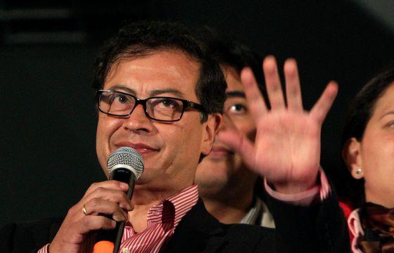 Gustavo Petro, el 13 de enero en Bogotá.
