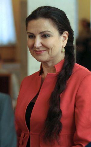 La diputada ucrania Inna Bogoslovskaya.