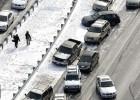 El hielo cubre Atlanta