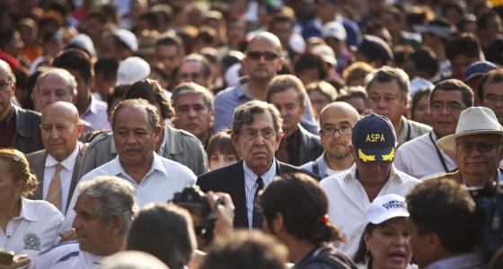 La izquierda mexicana marcha sin unidad