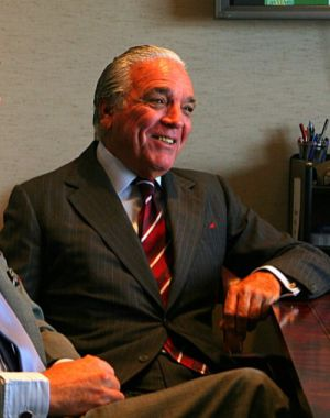 El magnate del azúcar, Alfonso Fanjul.