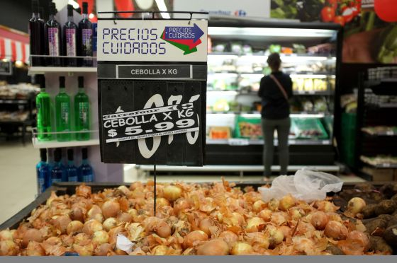 Un supermercado en Buenos Aires.