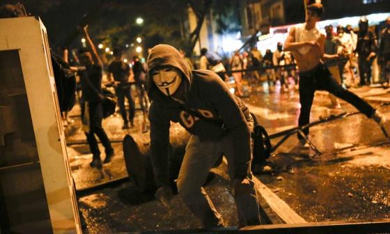 Protestas contra el Gobierno de Nicolás Maduro en Caracas.