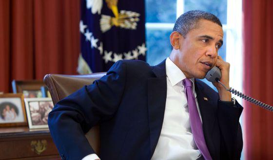 Obama y Putin coinciden en que Ucrania aplique su acuerdo cuanto antes