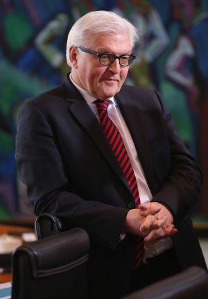 El ministro de Exteriores alemán, Frank-Walter Steinmeier, el pasado enero en Berlín.