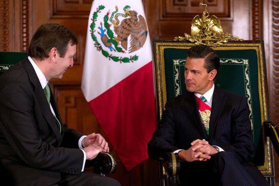 El presidente mexicano, Enrique Peña Nieto, el 14 de febrero.