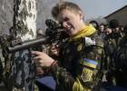 Voluntarios para proteger Ucrania
