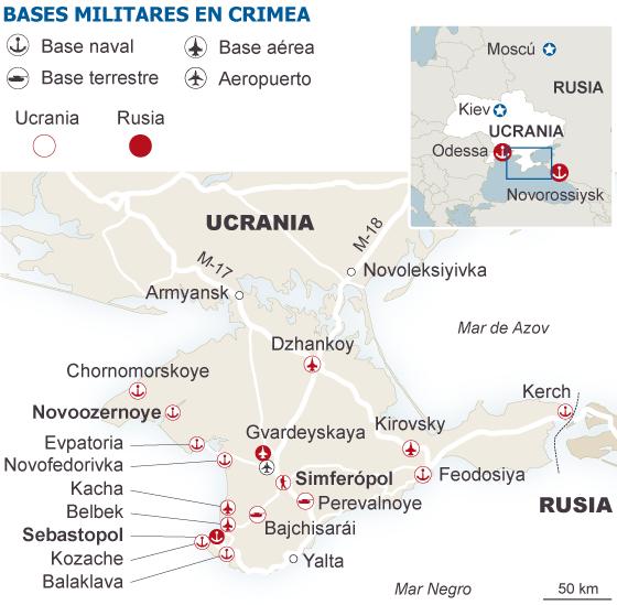 Kiev plantea arriar su bandera en Crimea