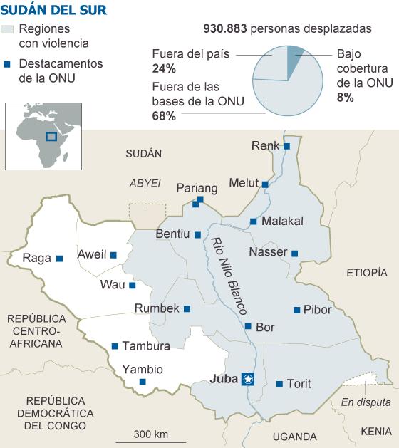 Sudán, Sudán del Sur. Militarismo, guerras, petróleo. - Página 3 1395422800_317211_1395428735_sumario_normal