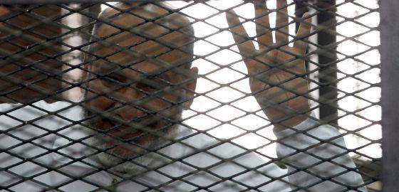 Safwat Hegazy, uno de los miembros de los Hermanos Musulmanes encarcelados.