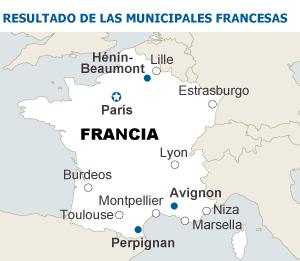 Fuentes: Ipsos, FTV, Radio Francia  Le Monde.