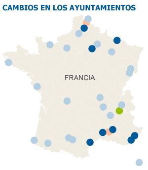Los socialistas franceses sufren una derrota histórica en las municipales