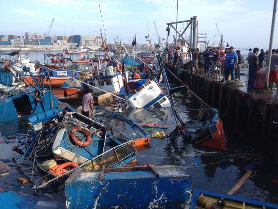 Chile evalúa los daños del terremoto