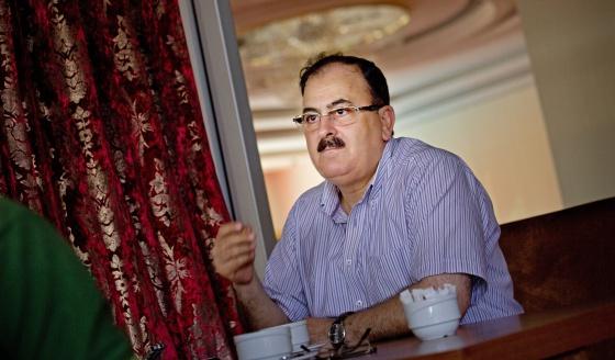 El ex comandante en jefe del Ejército Libre Sirio, Salim Idris, en una entrevista celebrada en Turquía en julio de 2013.