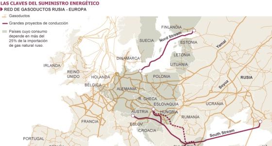 Putin amenaza a la UE con otra 'guerra del gas' si Ucrania no paga el suministro