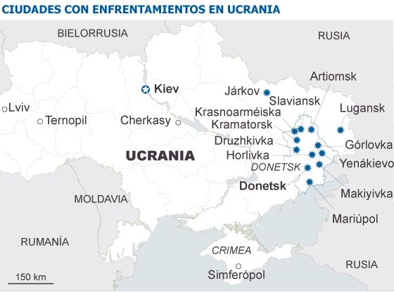 """La """"República Popular de Donetsk"""" desafía el ultimátum de Kiev"""