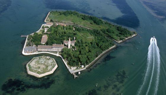 Poveglia, la isla del Véneto cuya concesión subasta el Estado.