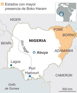 Boko Haram amenaza con vender como esclavas a 223 jóvenes nigerianas