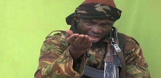 Imagen del líder de Boko Haram, Abubakar Shekau.
