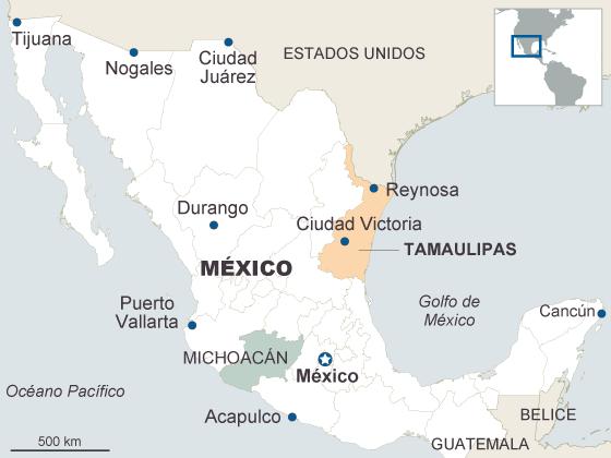 El Gobierno mexicano se dispone a intervenir en Tamaulipas