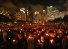 Vigilia masiva en Hong Kong por las víctimas de la matanza