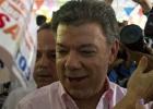 O voto da esquerda impulsiona a reeleição de Santos na Colômbia