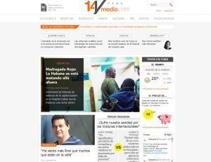 Página web 14 y medio de Yoani Sánchez