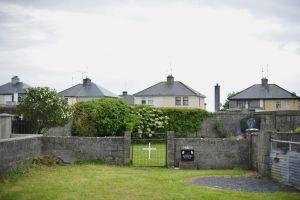 Antiguo convento católico en Tuam, en el condado irlandés de Galway (Irlanda) donde hay 800 niños enterrados sin identificar.