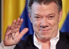 Colombia's Santos wins re-election with peace message