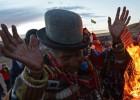 Los indígenas bolivianos reciben el año nuevo andino 5522