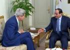 Kerry respalda a Al Sisi, actual presidente de Egipto