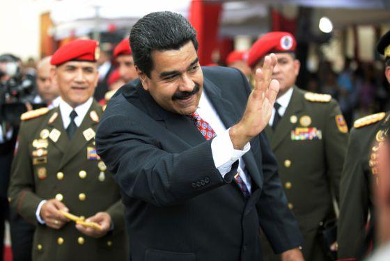 Nicolás Maduro, en un evento con militares
