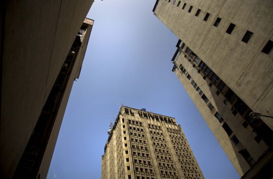 Vista de la sede del diario 'El Universal', en Caracas.