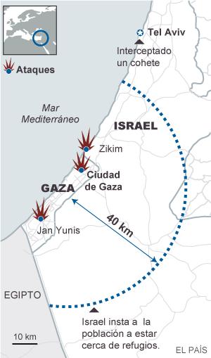 Israel moviliza sus fuerzas contra Hamás
