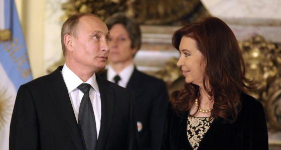 Putin y Fernández, en Buenos Aires.
