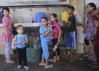 La guerra agrava la escasez de agua en el territorio palestino
