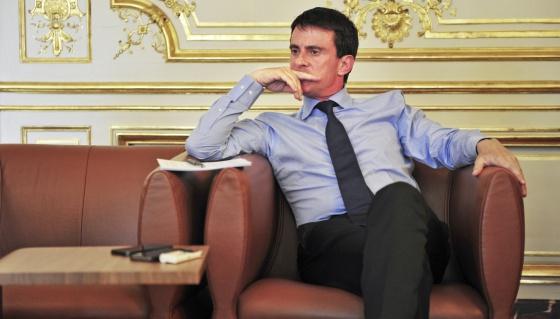 Manuel Valls, primer ministro de Francia entrevistado para El Pais