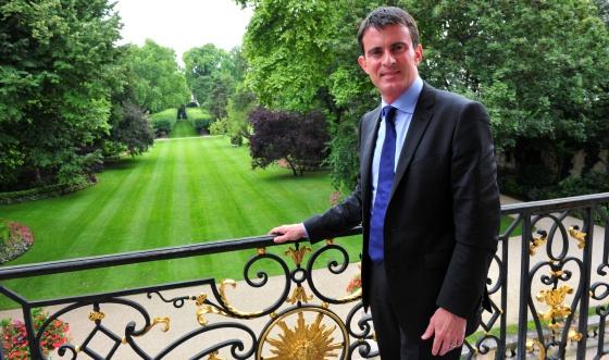 Manuel Valls, primer ministro de Francia, entrevistado para El Pais