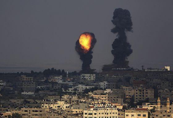 Não existe um local seguro para os moradores da Faixa de Gaza