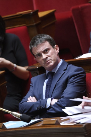 El primer ministro francés, en la Asamblea Nacional el 23 de julio