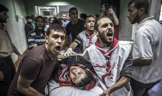 10.000 palestinos huyen ante la amenaza de Israel 1406208878_216443_1406232205_noticia_normal