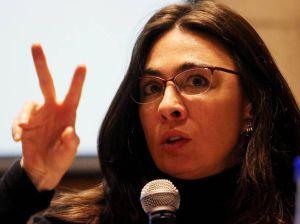 La relatora saliente de la CIDH Catalina Botero.
