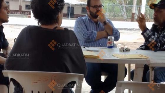 Captura de pantalla del vídeo de La Tuta y Vallejo Mora