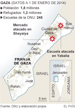 La Casa Blanca condena el ataque a una de las escuelas de la ONU en Gaza