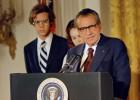 EE UU reevalúa la convulsa figura de Nixon a los 40 años de dimitir