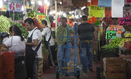Mercado de La Merced, en el Distrito Federal (México).