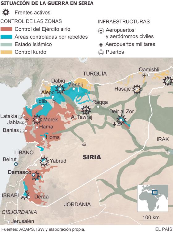 La olvidada Siria aún se desangra